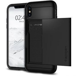 Spigen Slim Armor CS Black iPhone X