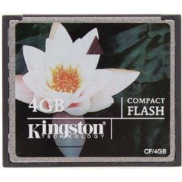 Kingston Compact Flash 4GB Paměťové karty