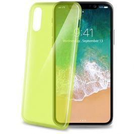 CELLY Ultrathin pro iPhone X světle zelený
