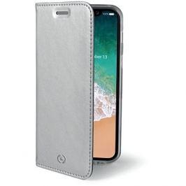 CELLY Air pro iPhone X stříbrné