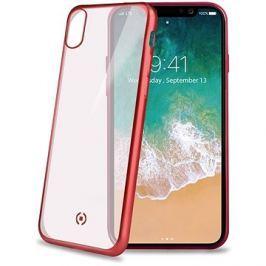 CELLY Laser pro iPhone X červený