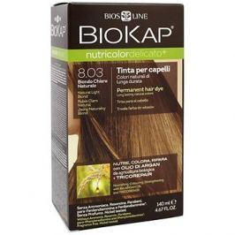 BIOKAP Nutricolor Extra Delicato + Natural Light Blond Gentle Dye 8.03 140 ml