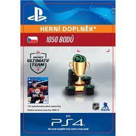 1050 NHL 18 Points Pack - PS4 CZ Digital