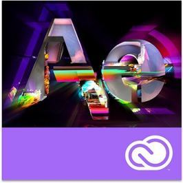 Adobe After Effects Creative Cloud MP ENG Commercial RENEWAL (12 měsíců) (elektronická licence)