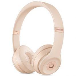 Beats Solo3 Wireless - matně zlatá