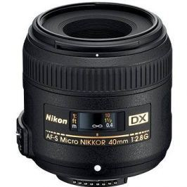 NIKKOR 40mm f/2.8G AF-S ED DX MICRO