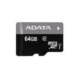 ADATA Premier Micro SDXC 64GB UHS-I + SD adaptér - AUSDX64GUICL10-RA1