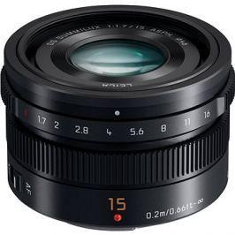 Panasonic Leica DG Summilux 15mm f/1.7 ASPH černý