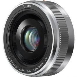 Panasonic Lumix G 20mm f/1.7 stříbrný