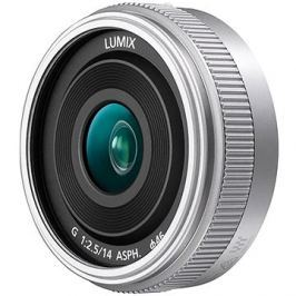 Panasonic Lumix G 14mm f/2.5 stříbrný