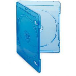 Krabička na 2ks Blu-ray média modrá,10ks/bal