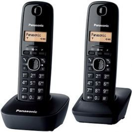 Panasonic KX-TGB212FXB Twinpack Black
