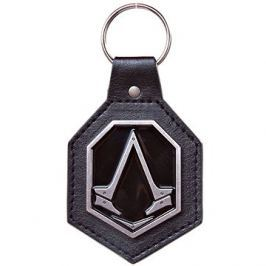 Assassin's Creed Syndicate - Pu Keychain with Metal Logo Patch