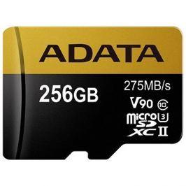 ADATA Premier ONE MicroSDXC 256GB UHS-II U3 Class 10
