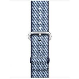 Apple 38mm Půlnočně modrý z tkaného nylonu (prošívání)