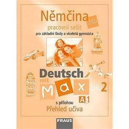 Němčina Deutsch mit Max A1/díl 2: Parcovní sešit s přílohou Přehled učiva
