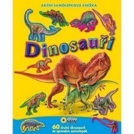Dinosauři: Akční samolepková knížka