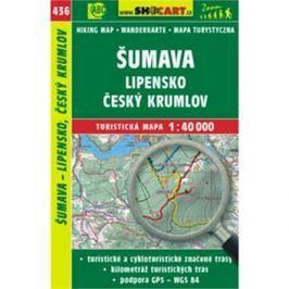 Šumava, Lipensko, Český Krumlov 1:40 000: 436