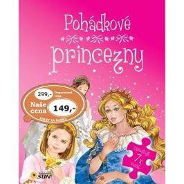 Pohádkové princezny: obsahuje 7x puzzle