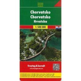 Automapa Chorvatsko 1:500 000