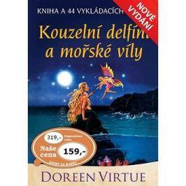Kouzelní delfíni a mořské víly: kniha a 44 karet