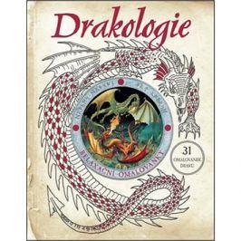 Drakologie relaxační omalovánky: 31 omalovánek draků