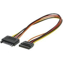 ROLINE napájecí SATA M - SATA F - prodlužovací, 0.3m Kabely a konektory