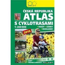 Česká republika Atlas s cyklotrasami: 1:240 000