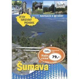 Šumava Ottův turistický průvodce Výprodej