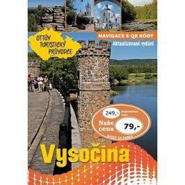 Vysočina Ottův turistický průvodce Výprodej