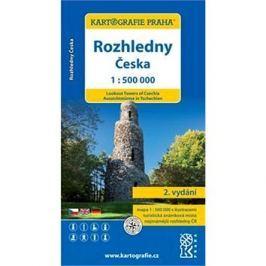 Rozhledny Česka 1:500000 Mapy ČR