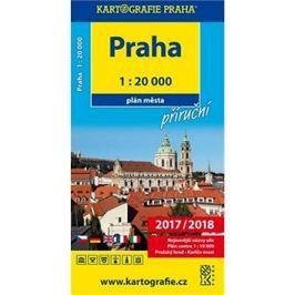 Praha 1:20 000: Plán města příruční Plány měst ČR