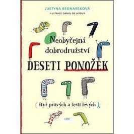 Neobyčejná dobrodružství deseti ponožek: (čtyř pravých a šesti levých) Romány a povídky