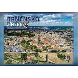 Brněnsko z nebe ČR