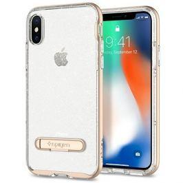 Spigen Crystal Hybrid Glitter Gold iPhone X