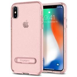 Spigen Crystal Hybrid Glitter Rose iPhone X