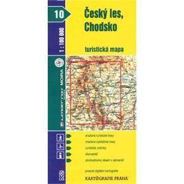 Český les, Chodsko  turistická mapa 1:100 000: 10