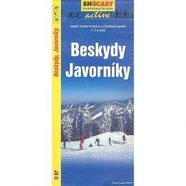 Beskydy Javorníky 1:75 000: Zimní turistická a lyžařská m.