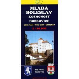Mladá Boleslav 1:10 000  ŽAKET: plán města