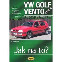 VW Golf benzin 9/91 - 8/97, Variant 9/93 - 12/98, Vento 2/92 - 8/97: Údržba a opravy automobilů č.19