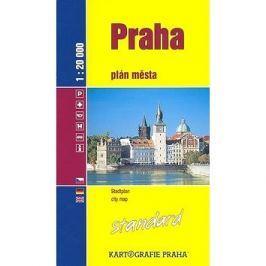 Praha Standard: plán města 1:20 000