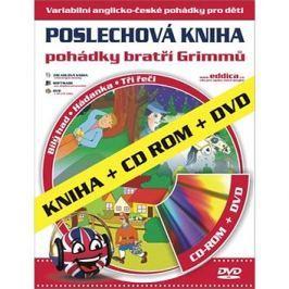 Pohádky bratří Grimmů: Poslechová kniha Kniha + CD ROM + DVD