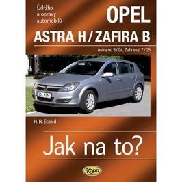 Opel Astra H od 3/04, Zafira B od 7/05: Údržba a opravy automobilů č. 99