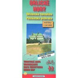 Orlické hory: Deštenská hornatina 1:50.000