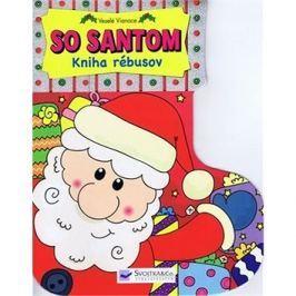 Veselé Vianoce so Santom - Kniha rébusov