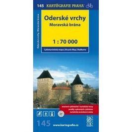 Oderské vrchy Moravská brána: cyklomapa 1:70 000