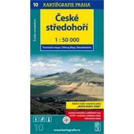 České středohoří: Turistická mapa č. 10 1:50 000