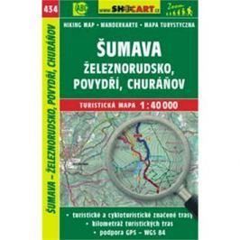 Šumava - Železnorudsko, Povydří, Churáňov 1:40 000: 434
