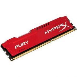 Kingston 4GB DDR3 1600MHz CL10 HyperX Fury Red Series