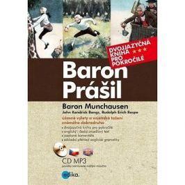 Baron Prášil Baron Munchauzen: Dvojjazyčná kniha pro pokročilé